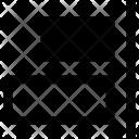 Horizontal Align Elements Icon