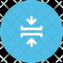 Horizontal Merge Arrows Icon