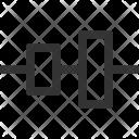 Horizontal Center Right Icon