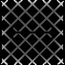 Horizontal Both Ways Icon
