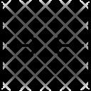 Horizontal Compress Tighten Icon