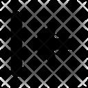 Horizontal Align Left Left Align Alignment Icon