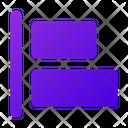Horizontal Align Left Horizontal Align Icon