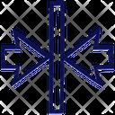 Horizontal Align Middle Icon