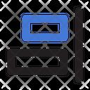 Horizontal Align Right Horizontal Align Icon