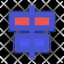 Horizontal Alignment Align Alignment Icon