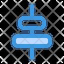Horizontal Alignment Icon