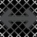 Horizontal Expand Alignment Tool Horizontal Arrow Icon