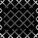 Horizontal Background Icon