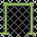 Crossbar Bar Horizontal Icon