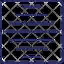 Horizontal Bars Icon