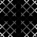 Horizontal Center Align Icon
