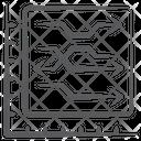 Horizontal Chart Icon