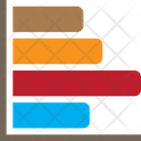 Horizontal Chart Column Chart Chart Icon