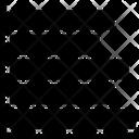 Horizontal Chart Multiple Icon