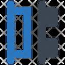 Horizontal Distribute Align Icon