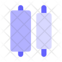 Horizontal-distribute-center Icon