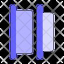 Horizontal-distribute-left Icon