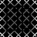 Horizontal Distribute Left Distribute Left Left Align Icon
