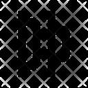 Horizontal Distribution Left Left Align Horizontal Distribute Left Icon