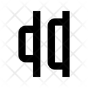 Horizontal Distribution Right Right Align Horizontal Distribute Right Icon