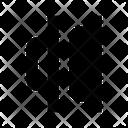 Horizontal Distribution Right Icon