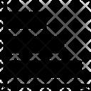 Horizontal Graph Horizontal Chart Icon