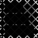 Horizontal Graphics Chart Icon