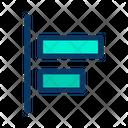 Horizontal Left Align Icon