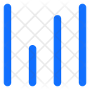 Horizontal Lines Vertical Lines Icon