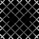 Horizontal Minimize Icon