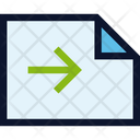 Document File Orientation Icon