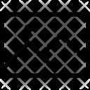 Horizontal Rectangle Photo Icon