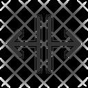 Horizontal Resize Horizontal Resize Icon