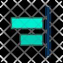 Horizontal Right Align Icon