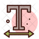 Horizontal Scale Icon