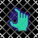 Horizontal Swipe Icon
