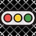 Horizontal traffic light Icon