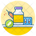 Hormone Therapy Hormone Injection Hormonal Treatment Icon