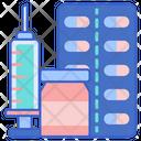 Hormone Therapy Hormones Medicine Icon