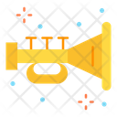 Horn Music Instrument Trumpet Icon