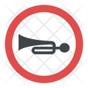 Sound Horn Sign Icon