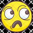 Horrified Emoji Icon