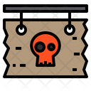 Halloween Board Horror Scary Icon