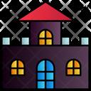 Horror Castle Icon
