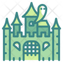 Horror Castle Ghost Palace Icon