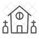 Horror House Halloween Icon