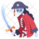 Skeleton Pirate Death Icon