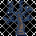 Horror Tree Halloween Tree Horror Icon