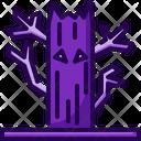 Horror Tree Halloween Tree Tree Icon